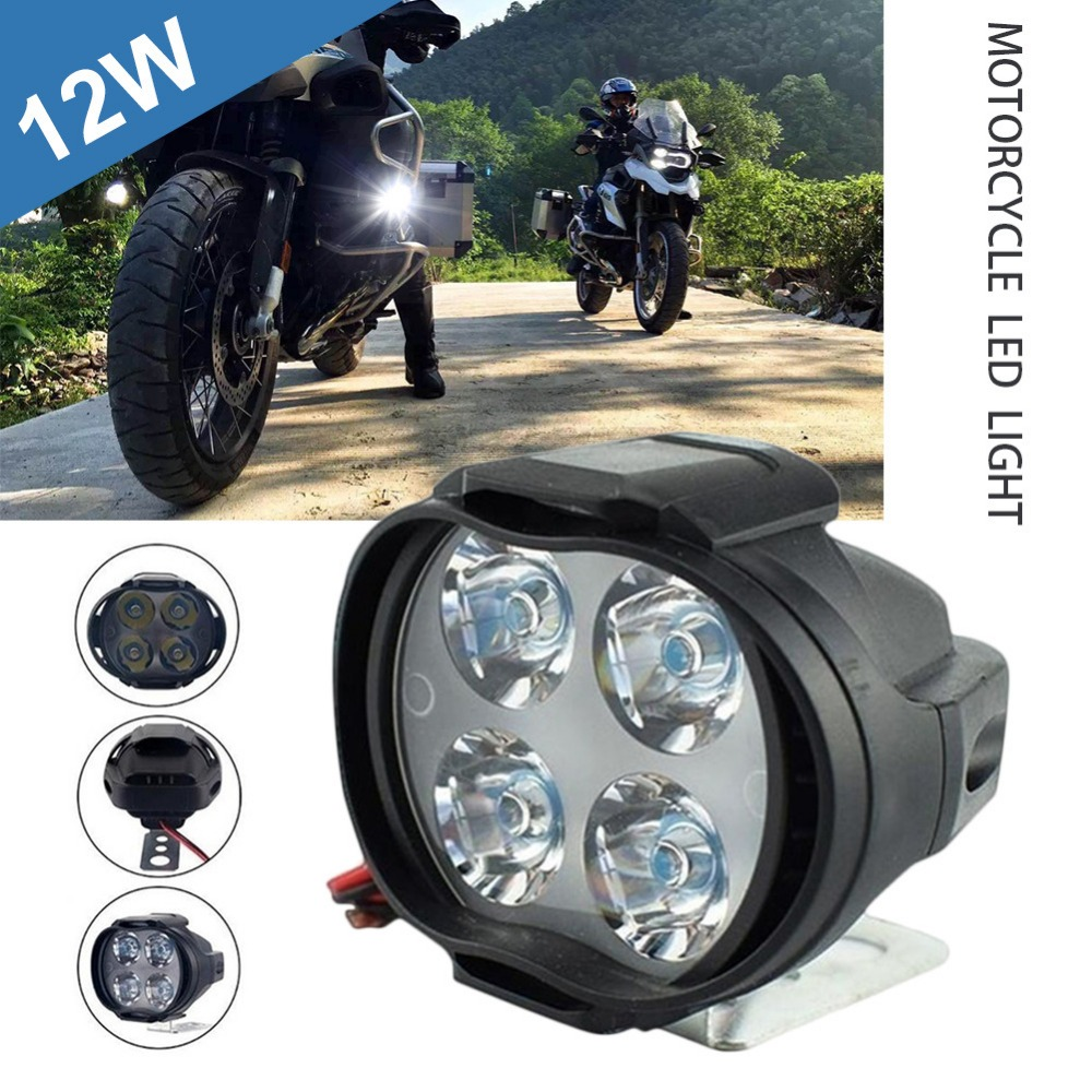 motorcycle-headlight-4led-12w-dc12v-super-bright-fog-spot-white-work-light-internal-drive-for-motorcycles-electric-bicycles