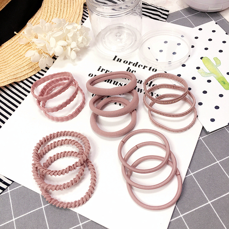 BRIGHT AND METALLICA HAIR BOBBLES ELASTICS SCHOOL PONYTAIL THICK SILVER GOLD