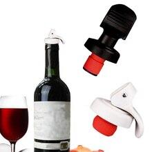 IVYSHION многоцветная пластиковая бутылка для вина, вакуумная пробка, герметичная пробка для бутылки вина, пробка для шампанского, герметичный герметик