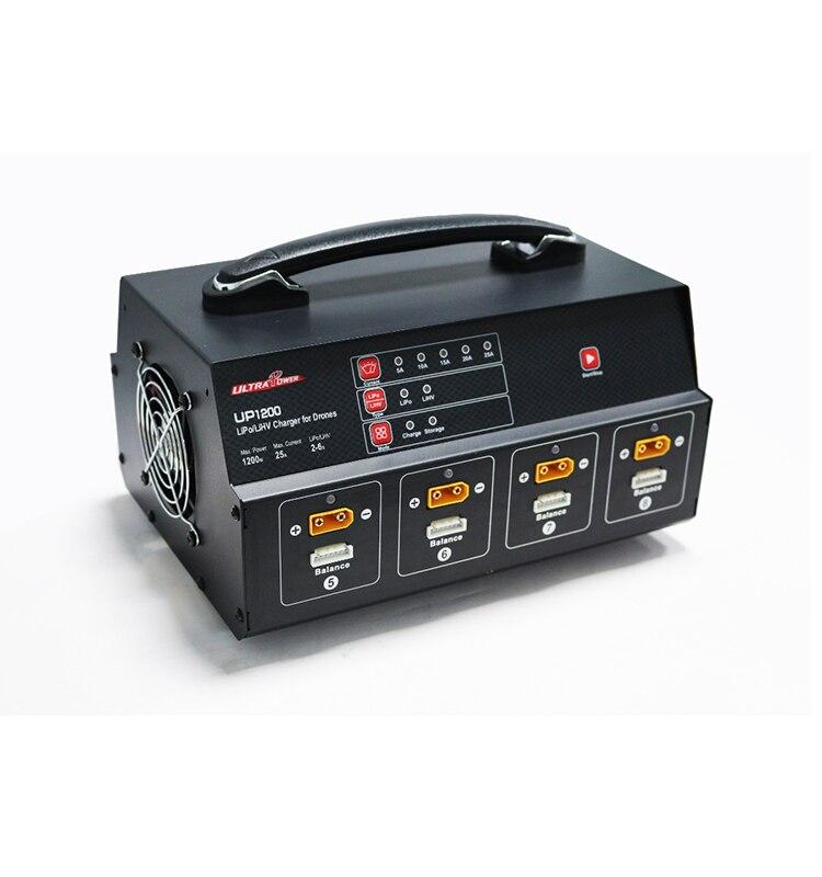 Ultra Power UP1200 Octuple 1200W 25A 8 Channels 6S