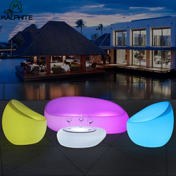 P61 Sofa LED Night Light Outdoor  Party seat Nightlight lamp luminaire Remote control colour Industrial Decor Lighting fixtures