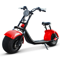 Chinese 2 Wheel Coolest Harley Electric Scooter Citycoco Vespa Moped