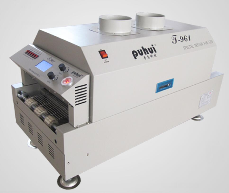 Image 4 - Free Shipping LED Reflow Oven T961 Infrared Heating 230*730mm Soldering Oven Puhui T 961, 220v, 6 Temperature Zoneoven ovenoven ledheat oven -