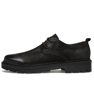 Image 3 - Clax mens leather shoes 정품 가죽 봄 가을 디자이너 남성 캐주얼 워킹 footwar 겨울 모피 chaussure homme plus size