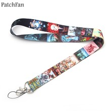 A0305 Patchfan Newest Alice in Wonderland Lanyard for Key Phones USB Flash Badge ID Cards Holders Neck Straps webbing(China)