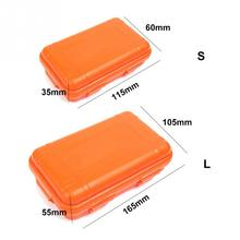 Plastic Waterproof Airtight Survival Case Container Camping Outdoor Travel Storage Box S/L Size