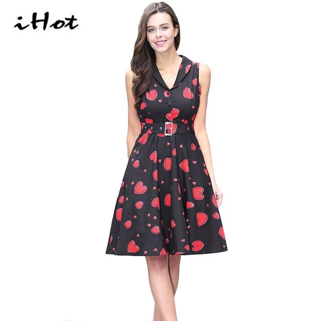 50s style skater dress