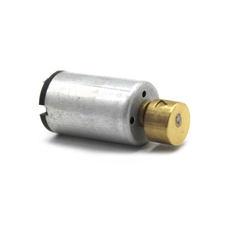 DC 3V, 8500RPM, 1220, Micro vibración, Motor de masajes para tiras de poder, juguete eléctrico
