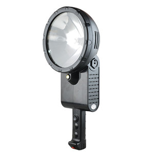 Professional 100w ship Xenon 12V search light,160w hunting spotlight,220W HID Marine Searchlight for Handheld or tripod