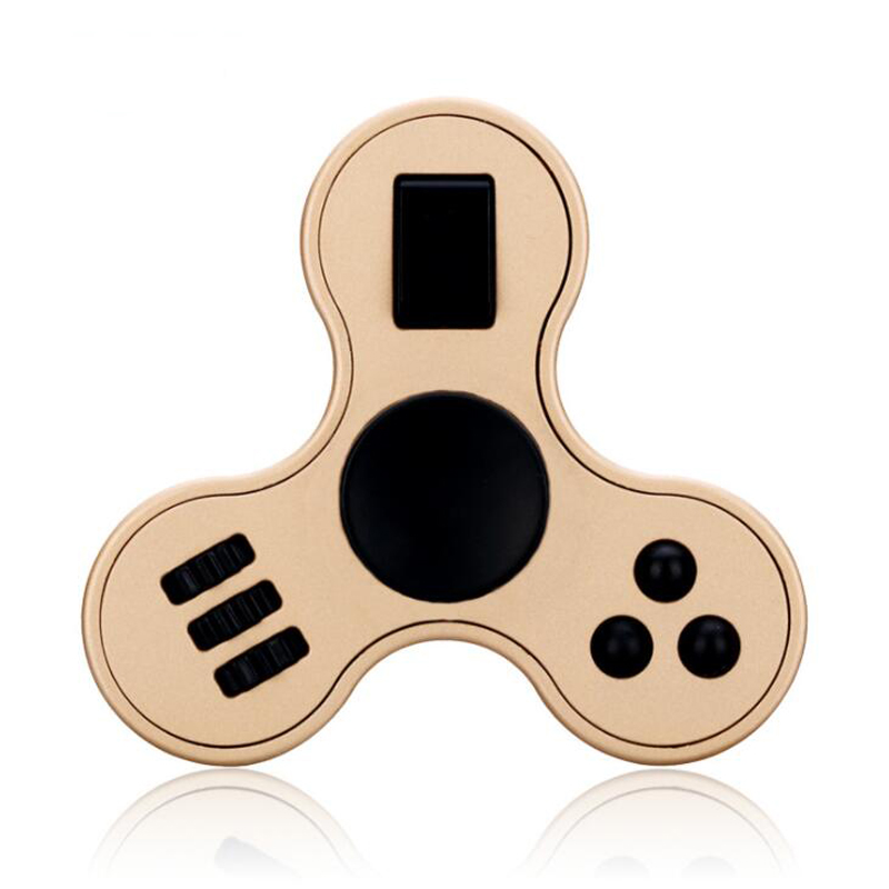 Newest Multi-purpose Fidget Hand Spinner Finger Gyro ABS EDC Fidget Spiner Anti Stress Puzzle for Autism & ADHD Finger Spinner
