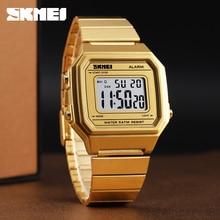 SKMEI Fashion Casual Watch Men Watch Digital Waterproof Wristwatches Luminous Week Display Alarm Men Watches Erkek Kol Saati New