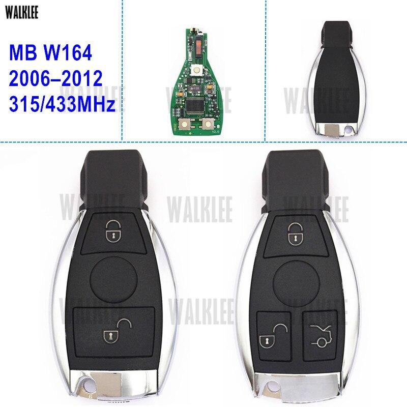 WALKLEE Smart Key Anzug für Mercedes Benz M-KLASSE W164 CDI 4 MATIC ML250 ML300 ML320 ML350 ML400 ML500 ML550