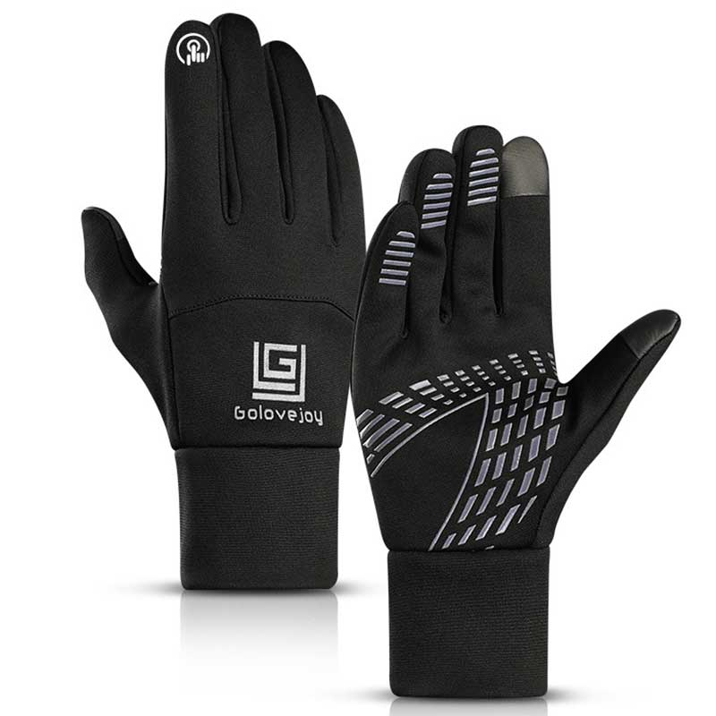 Winter Skiing Gloves Windproof Rainproof Touch Screen Tactical Heated Glove Fleece Thermal Snowboard Ski Cross-country Mittens