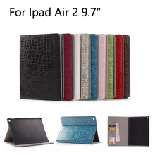 For Apple iPad Air 2 case Plaid Design Enterprise PU Leather-based Protecting Pores and skin for iPad 6 Cowl With Card Holder Pill Equipment