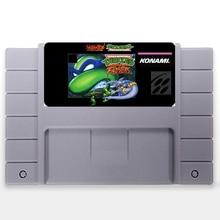 Teenage Mutant Ninja Turtles Torneio Lutadores EUA Versão 16 pouco Grande 46 pinos Cinza Cartão de Jogo Para O Jogador Do Jogo NTSC