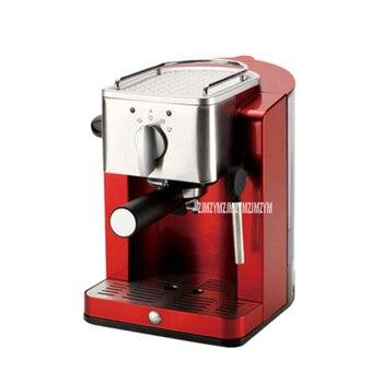 TSK-1827RA 15bar 1.2L Commercial Semi Automatic Espresso Coffee Machine Home Mocha Cappuccino Italian Coffee Maker 220V 850W Red