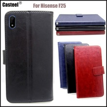 Casteel Classic Flight Series high quality PU skin leather case For Hisense F25 Case Cover Shield