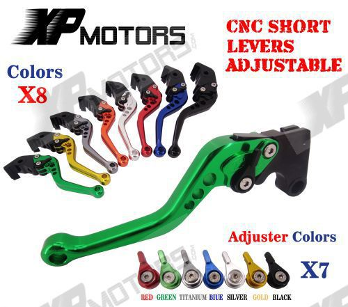 CNC Short Adjustable Brake Clutch Lever For Suzuki GSF650 /S Bandit GSF1200 GSF1250 GSX1250 F/SA/ABS NEW cnc keyless fuel tank gas cap for suzuki sv650 sv650s 2003 2010 gsf 650 1250 s bandit gsx650f 2008 2010