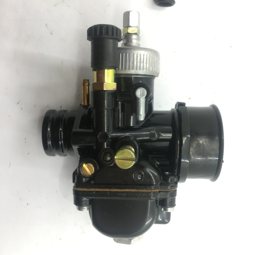 купить SherryBerg PHBG19 PHBG 19 PHBG19.5 CARBURETTOR DS Black 19mm Racing Carburetor Carb Dellorto manual choke mopeds scooter W COVER по цене 2719.22 рублей