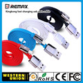 Remax cabo usb relâmpago para usb cabo do carregador cabo de dados do telefone móvel rápido para iphone 6 5 ipad air ipod cabo usb para iphone 5