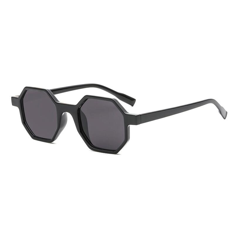 New Sunglasses vintage sunglasses women  polygon UV400