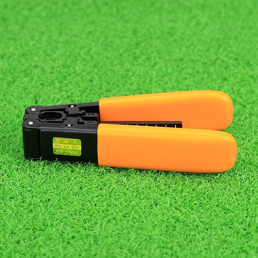 KELUSHI Orange FTTH Cable Striping Plier Pixian Fiber Optic Stripping Tool Fiber Optic Stripper