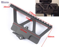 Tactical AK Series Quick Detach QD Side Rail Scope Mount Base Picatinny Side Rail For AK