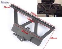 Tactical AK Series Quick Detach QD Side Rail Scope Mount Base Picatinny Side Rail For AK
