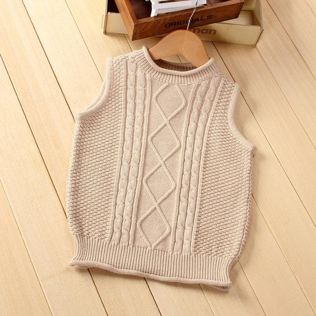 Nueva Otoño Chaquetas de Punto para mujer Cardigans Niños Niños Niñas Ropa de Manga Larga Suéteres Chaleco chaqueta de Punto de Algodón suéter del bebé del chaleco