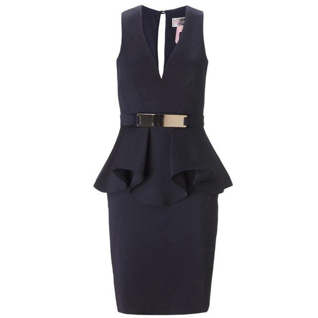 Bright V-neck Dresses