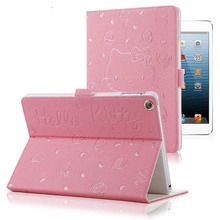 Hello Kitty Cat PU Leather Soft Back Case For iPad new 9.7 2017 2018 A1822 A1893