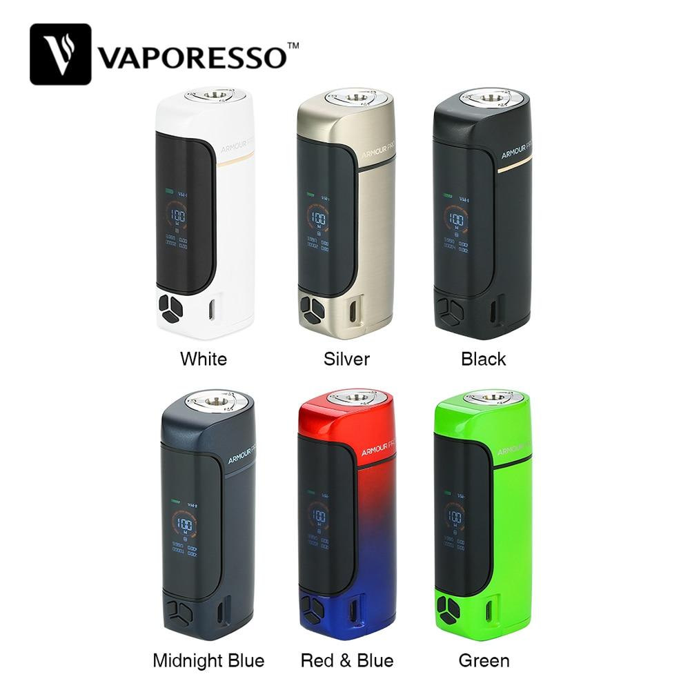 New Original Vaporesso Armure Pro 100 W boîte de tc Mod Vaporisateur Fit Cascade Bébé Réservoir Vaper Vaporisateur E-Cigarette Vaping Kit Pas batterie