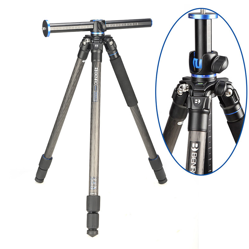 Benro GC257T Tripods Carbon fiber Camera Tripod Monopod For Camera 3 Section Carrying Bag Max Loading 16kg DHL Free Shipping