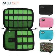 가제트 케이블 주최자 스토리지 가방 여행 전자 액세서리 케이블 파우치 케이스 USB 충전기 전원 은행 홀더 Digitals 키트 가방