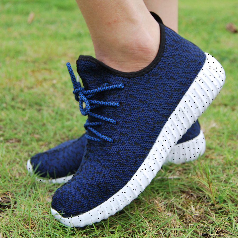 16 new black color sport shoes woman and man,new idea computer woven breathable sneakers woman & man,comfortable shoes 17