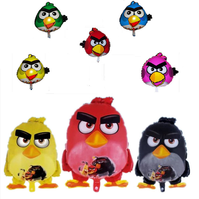 Cartoon Birds Foil Balloons Helium Balloons Children inflatable toys air balloon