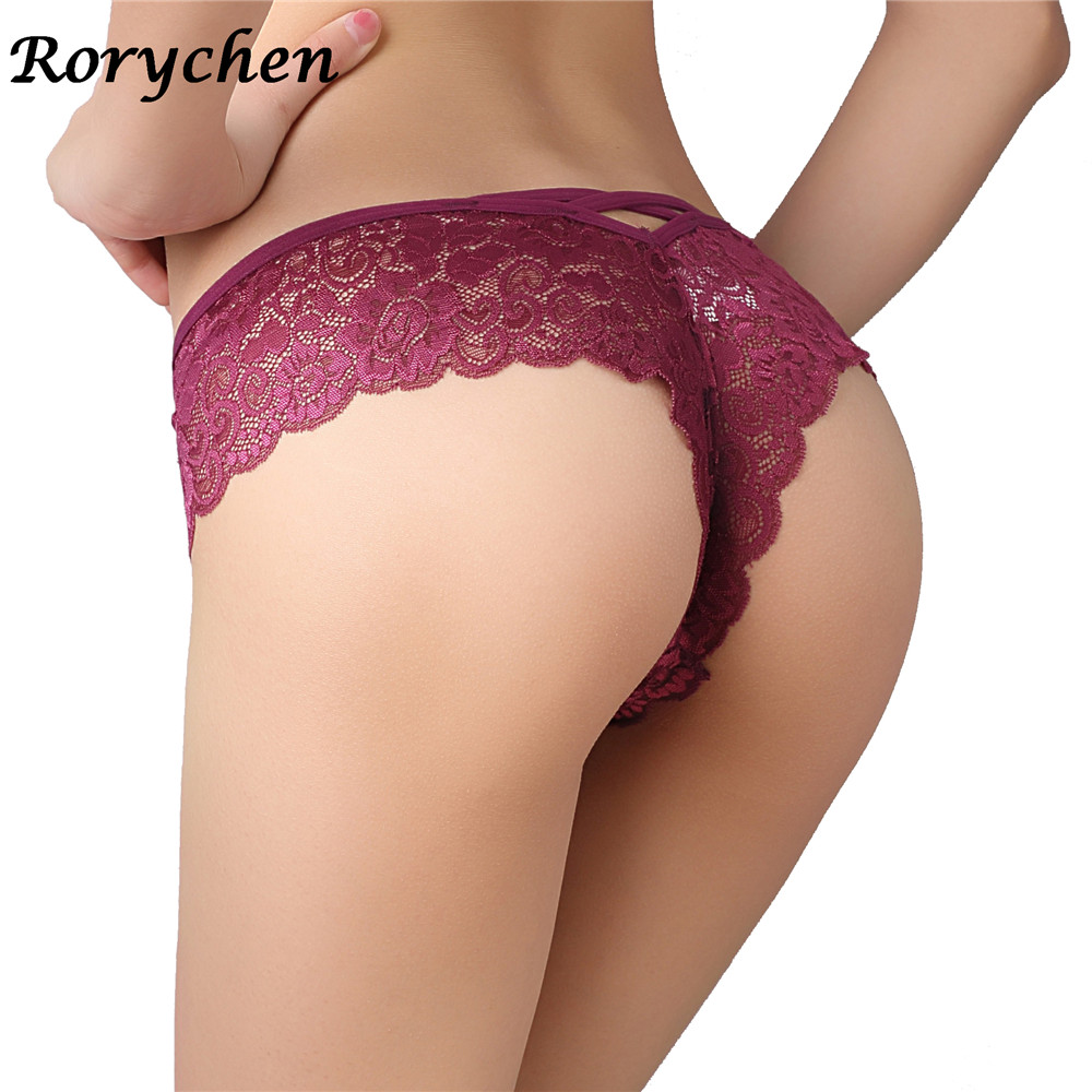 2017 UK famous brand Sexy Full Lace Panties Transparent Briefs Plus size Women  Underwear Female Knicker bragas calcinha -in women s panties from Underwear  ... 5177be3d4