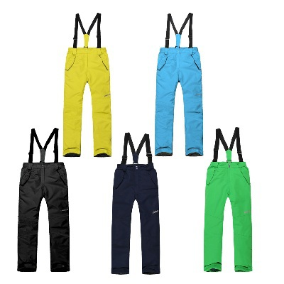 ФОТО Boys Ski Pants Snowboard Pants Five Color For Chose Outdoor Insulation Waterproof Windproof Breathable