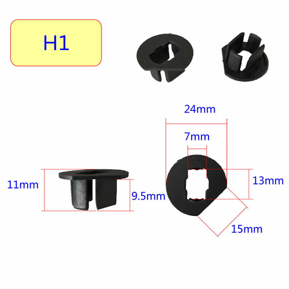 Inlong 2Pcs H7 LED Headlight Adapter Holder Base For Led H1 H4 H11 H8 H9 H13 9004 9005 9006 9007 880 Headlamp Sockets LED Bulbs