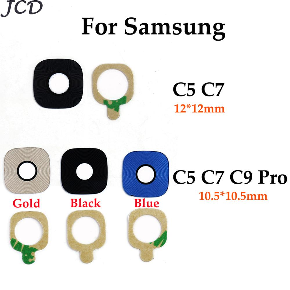 JCD For Samsung Galaxy C5 Pro / C7 Pro / C9 Pro C5010 C7010 C9000 C5 C7 Back Rear Camera Lens With Adhesive Sticker Replacement