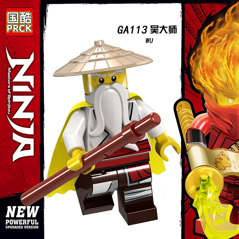 Single Sale Compatible Legoinglys Ninjagoed Figure JAY ZANE  KAI WU ICE EMPEROR Building Blocks Clloction Toys Children Gifts