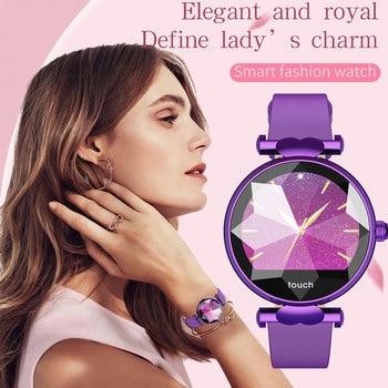 2019 J2 Smartwatch feminino Female menstrual cycle smart wristband blood pressure ladies smart watch smartwatch dames waterdicht
