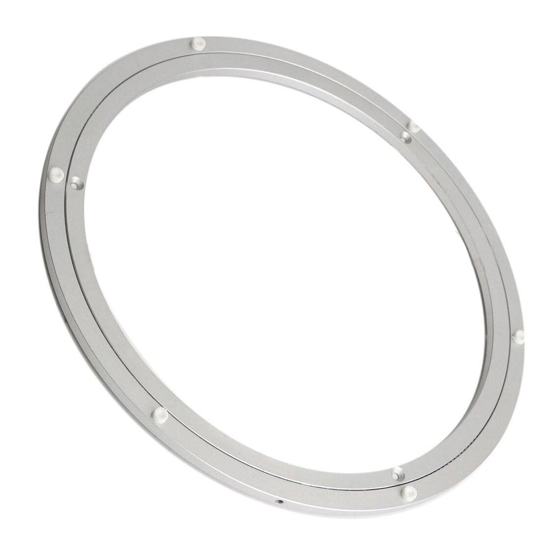 Aluminium Draaitafel Lager Kwartelplaat 16 Inch Zilver Om Tot De Eerste Te Behoren Onder Vergelijkbare Producten