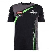 2018 summer Racing Season Short-sleeved Shirt For Kawasaki Team Motorbike Motocross T-shirt Jersey