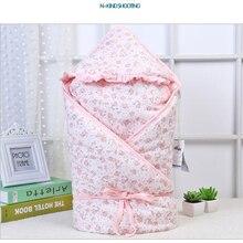 Зима осень хлопок младенческой ребенка спальный мешок конверт для новорожденных детские постельные принадлежности спальные принадлежности Детское покрывало пеленания
