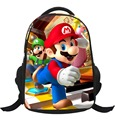 2017 New Cartoon Mario School Bags For Boys 16 Inch Children's Backpacks Primary Schoolbag Satchel Mochila Escolar High Quality