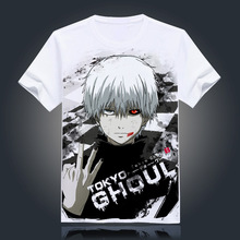 Tokyo Ghoul T-shirt New Japan Anime Ken Kaneki Cosplay Costume Comfortable Breathable T Shirt For Men Women Tops Tees