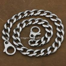 14″ ~ 36″ 316L Stainless Steel Mens Biker Rocker Punk Wallet Chain 5D005WC