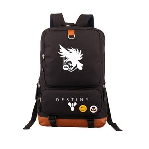 Image 5 - Hot Game Destiny iron Banner Backpack Black School Bags Bookbag Cosplay Gamer Kids Teens Shoulder Laptop Travel Bags Gift