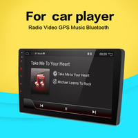 9 2 din Car Radio Android GPS Navigation Wifi Car Multimedia DVD Player with Mirror Link Support Rear View Camera